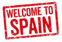 Welcome to Spain Stock Photos