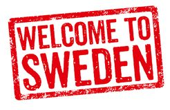 Welcome to Sweden Stock Photography