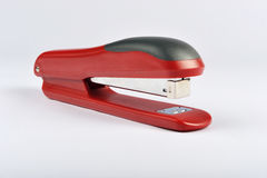 Red stapler Stock Images