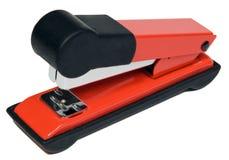 Red stapler Stock Image
