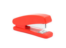 Red stapler, isolated Royalty Free Stock Photo