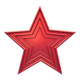 Red star Royalty Free Stock Image