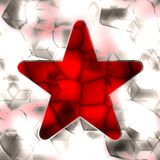 Red star Stock Photography