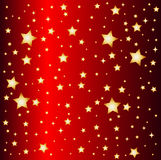 Red star background Stock Photography