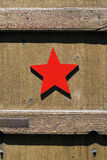 Red star Royalty Free Stock Photo