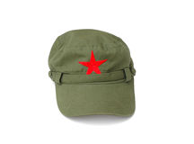 Red star cap Royalty Free Stock Photo