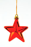 Red star for Christmas tree Royalty Free Stock Photos