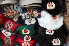 Red star communist hat, west side Berlin Stock Images
