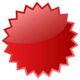 Red star icon Stock Photos