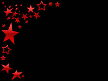 Red Star page background Royalty Free Stock Photo