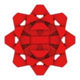 Red Star ribbon Stock Photo