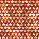 Red star seamless Stock Image