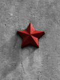 Red star Royalty Free Stock Photography