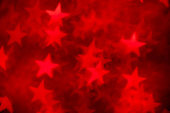 Red star shape as background Royalty Free Stock Photography