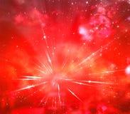 Red Starburst Royalty Free Stock Photos