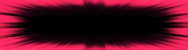 Red starburst explosion banner stock illustration