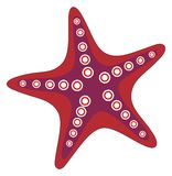 Red Starfish Royalty Free Stock Image