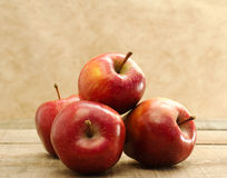 Red stark apples Stock Images