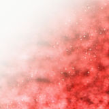 Red Starry Background Stock Photo