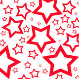 Red stars Royalty Free Stock Photo