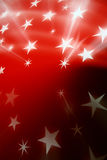Red stars Stock Images