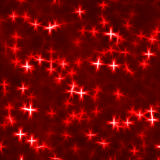 Red stars Stock Photography
