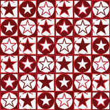 Red stars Royalty Free Stock Images