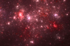 Red stars background Stock Image