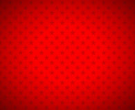 Red stars background. Simple illustration Stock Images