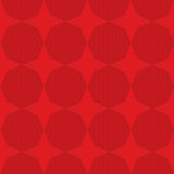 Red stars on checkered background Royalty Free Stock Photos