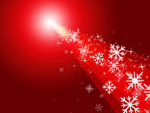 Red Stars Means Merry Xmas And Celebrate Royalty Free Stock Photo
