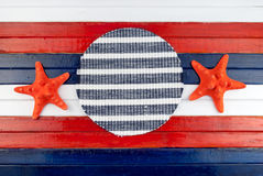 Red stars. Stock Image