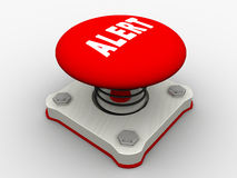 Red start button Royalty Free Stock Photos