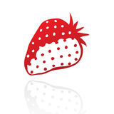 Red stawberry Royalty Free Stock Image