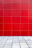Red steel wall background Royalty Free Stock Photo