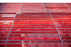 Red steps Stock Photos