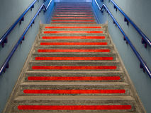 Red steps Royalty Free Stock Image