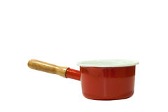 Red stewpot Stock Photography