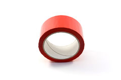 Red sticky tape Stock Image