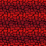 Red stone pattern Royalty Free Stock Photography