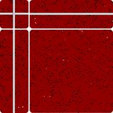 Red stone tipe ceramic tiles Royalty Free Stock Images