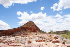 Red stones of Pilbara. Hottest town of Australia - Marble Bar Stock Images