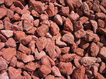 Red stones Royalty Free Stock Photography
