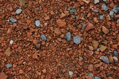Red stones texture Royalty Free Stock Images