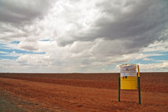 Red Stony Desert Royalty Free Stock Photography