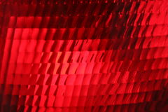 Red stop light, close up. Vehicle red stop light, detail Royalty Free Stock Photo