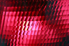 Red stop light, close up. Vehicle red stop light, detail royalty free stock photos