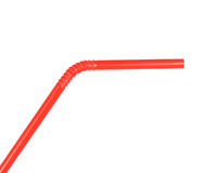 Red Straw Stock Image