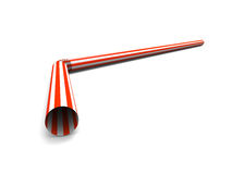 Red straw Royalty Free Stock Photography
