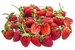 Red Strawberries Royalty Free Stock Photos